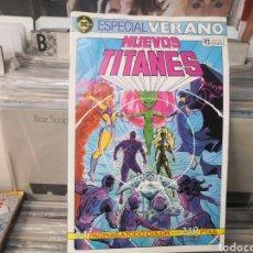 Cómics: NUEVOS TITANES ESPECIAL VERANO. Lote 285285673
