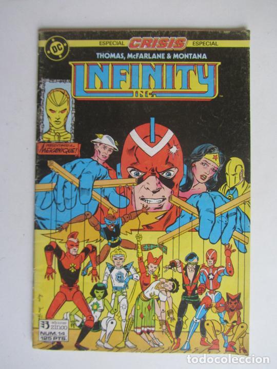 INFINITY Nº 14 DC EDICIONES ZINCO ARX145 (Tebeos y Comics - Zinco - Infinity Inc)