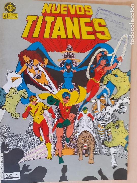 NUEVOS TITANES Nº 1. ZINCO 1984 (Tebeos y Comics - Zinco - Nuevos Titanes)