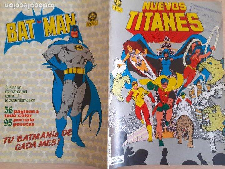 Cómics: Nuevos Titanes nº 1. Zinco 1984 - Foto 2 - 286344193