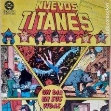 Cómics: NUEVOS TITANES Nº 8. UN DÍA EN SUS VIDAS. ZINCO 1984.. Lote 286344633