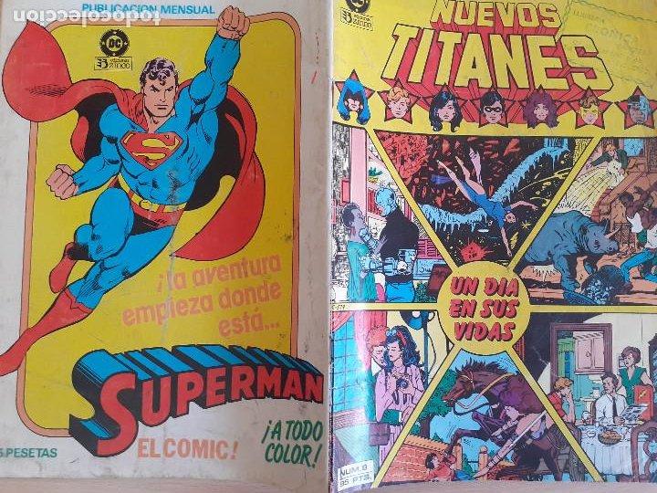 Cómics: Nuevos Titanes nº 8. Un día en sus vidas. Zinco 1984. - Foto 2 - 286344633