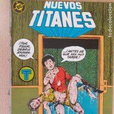 Cómics: NUEVOS TITANES Nº 37. ZINCO 1984. PROCEDE DE RETAPADO. Lote 286344798