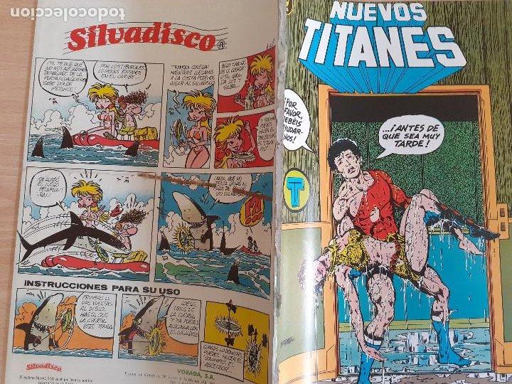 Cómics: Nuevos Titanes nº 37. Zinco 1984. Procede de retapado - Foto 2 - 286344798