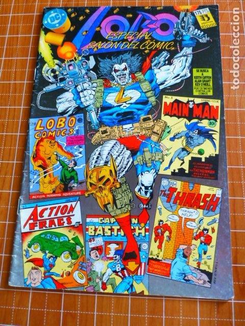 COMIC LOBO ESPECIAL SALON DEL COMIC (Tebeos y Comics - Zinco - Lobo)