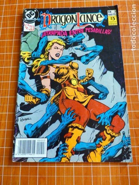 DC DRAGONLANCE Nº 3 ATRAPADA ENTRE PESADILLAS DE ZINCO (Tebeos y Comics - Zinco - Otros)