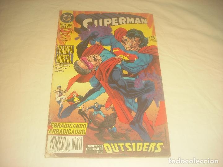 SUPERMAN 22 DC . TRAMPA MORTAL. (Tebeos y Comics - Zinco - Superman)