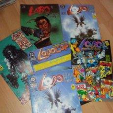 Cómics: LOTE CÓMICS 'LOBO' EDITORIAL ZINCO Y FIRMADO POR AUTOR. Lote 287067943