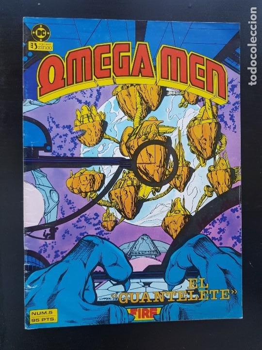 TEBEO / CÓMIC MUY BIEN OMEGA MEN N⁰ 5 SÚPER HÉROES ZINCO 1988 (Tebeos y Comics - Zinco - Otros)