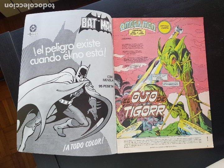 Cómics: TEBEO / CÓMIC MUY BIEN OMEGA MEN N⁰ 5 SÚPER HÉROES ZINCO 1988 - Foto 2 - 287069883