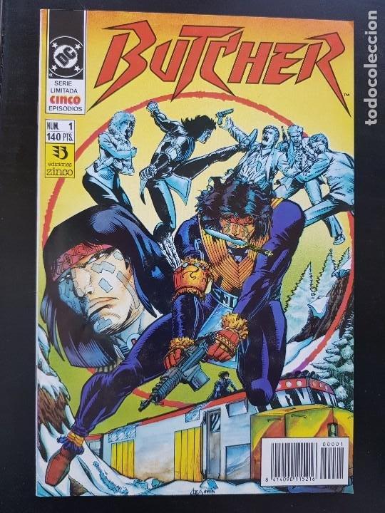 TEBEO / CÓMIC MUY BIEN BUTCHER N⁰ 1 SÚPER HÉROES ZINCO 1991 (Tebeos y Comics - Zinco - Otros)
