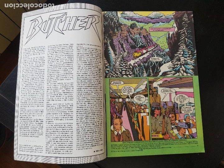 Cómics: TEBEO / CÓMIC MUY BIEN BUTCHER N⁰ 1 SÚPER HÉROES ZINCO 1991 - Foto 2 - 287079623