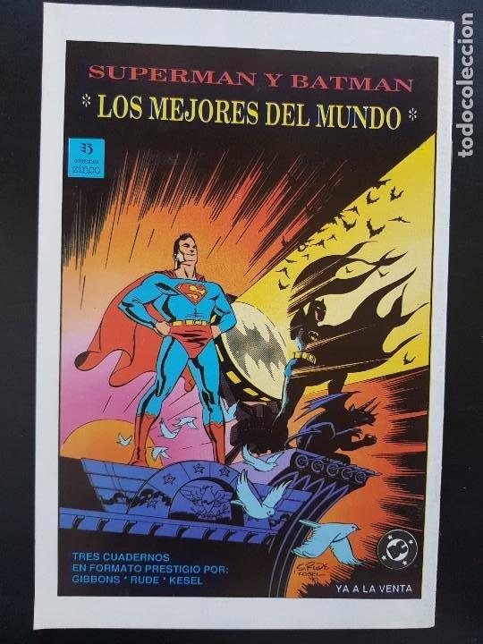 Cómics: TEBEO / CÓMIC MUY BIEN BUTCHER N⁰ 1 SÚPER HÉROES ZINCO 1991 - Foto 3 - 287079623