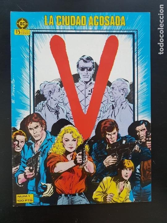 TEBEO / CÓMIC MUY BIEN V N⁰ 1 LA CIUDAD ACOSADA ZINCO 1981 (Tebeos y Comics - Zinco - Otros)
