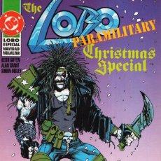 Cómics: LOBO PARAMILITARY CHRISTMAS SPECIAL - ZINCO - MUY BUEN ESTADO. Lote 287200318