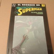 Cómics: EL REGRESO DE SUPERMAN. Lote 287238053