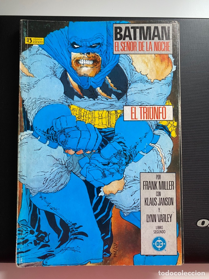 Cómics: Batman: el regreso del señor de la noche - completa 4 números - Zinco - Foto 2 - 287481088