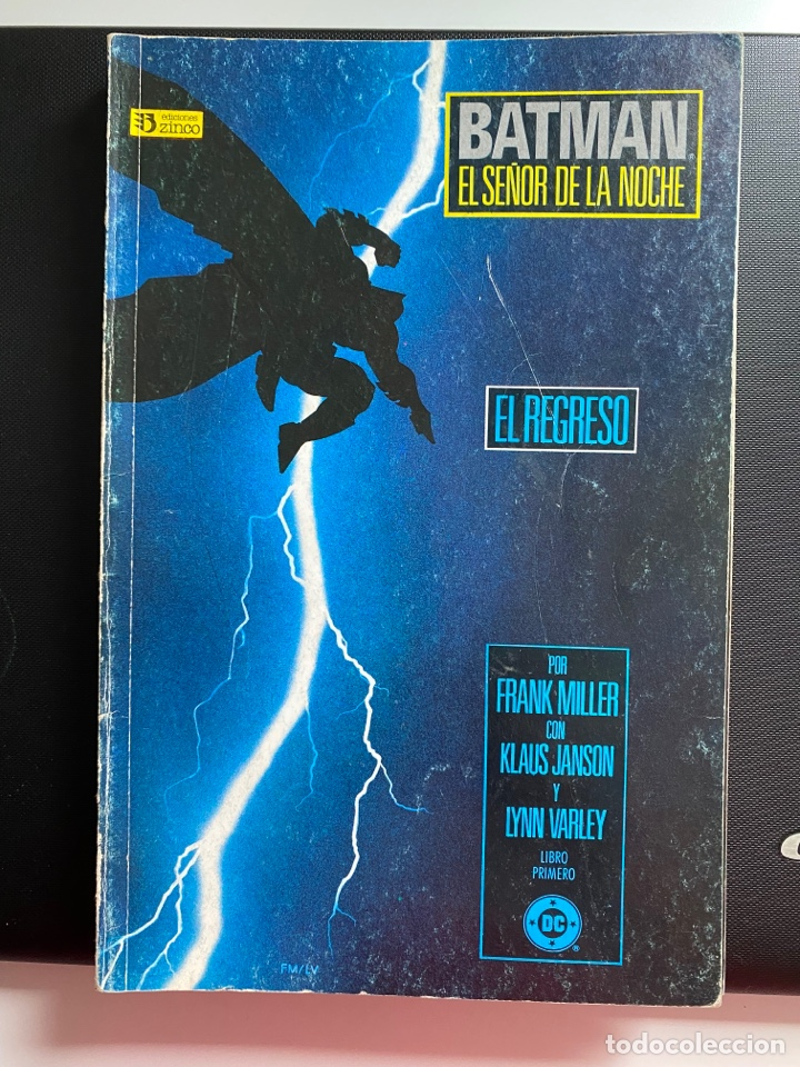 BATMAN: EL REGRESO DEL SEÑOR DE LA NOCHE - COMPLETA 4 NÚMEROS - ZINCO (Tebeos y Comics - Zinco - Batman)