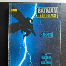 Cómics: BATMAN: EL REGRESO DEL SEÑOR DE LA NOCHE - COMPLETA 4 NÚMEROS - ZINCO. Lote 287481088