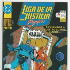 Cómics: ZINCO. LIGA DE LA JUSTICIA EUROPA. 32.. Lote 287493843