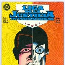 Cómics: ZINCO. LIGA DE LA JUSTICIA. INTERNACIONAL. 10.. Lote 287493888
