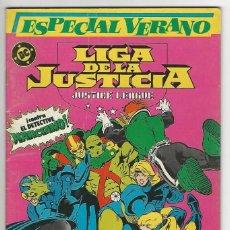 Cómics: ZINCO. LIGA DE LA JUSTICIA. 1. ESPECIAL VERANO.. Lote 287493893
