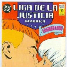 Cómics: ZINCO. LIGA DE LA JUSTICIA. AMÉRICA. 39.. Lote 287493913