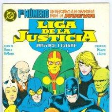 Cómics: ZINCO. LIGA DE LA JUSTICIA. JUSTICE LEAGUE. 1. Lote 287493923