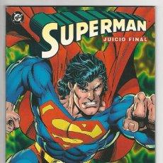 Cómics: ZINCO. SUPERMAN. 2. JUICIO FINAL. CAZADOR/PRESA.. Lote 287493983