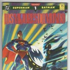 Cómics: ZINCO. SUPERMAN. BATMAN. 1. LOS MEJORES DEL MUNDO.. Lote 287494018