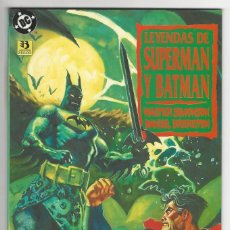 Cómics: ZINCO. SUPERMAN. BATMAN. LEYENDAS. 3. Lote 287494038