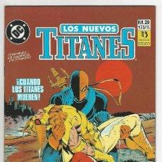 Cómics: ZINCO. LOS NUEVOS TITANES. 29.. Lote 287493728