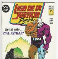 Cómics: ZINCO. LIGA DE LA JUSTICIA EUROPA. 12.. Lote 287493753