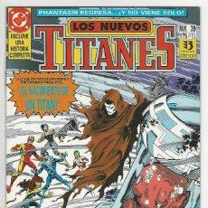 Cómics: ZINCO. LOS NUEVOS TITANES. 39.. Lote 287493758