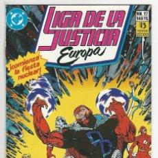 Cómics: ZINCO. LIGA DE LA JUSTICIA EUROPA. 17.. Lote 287493788