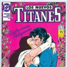 Cómics: ZINCO. LOS NUEVOS TITANES. 24.. Lote 287493798