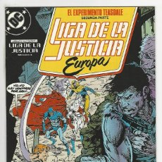 Cómics: ZINCO. LIGA DE LA JUSTICIA EUROPA. 7. Lote 287493823