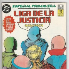 Cómics: ZINCO. LIGA DE LA JUSTICIA. 5. AMÉRICA. ESPECIAL PRIMAVERA.. Lote 287493828