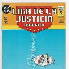 Cómics: ZINCO. LIGA DE LA JUSTICIA. AMÉRICA. 29.. Lote 287493858