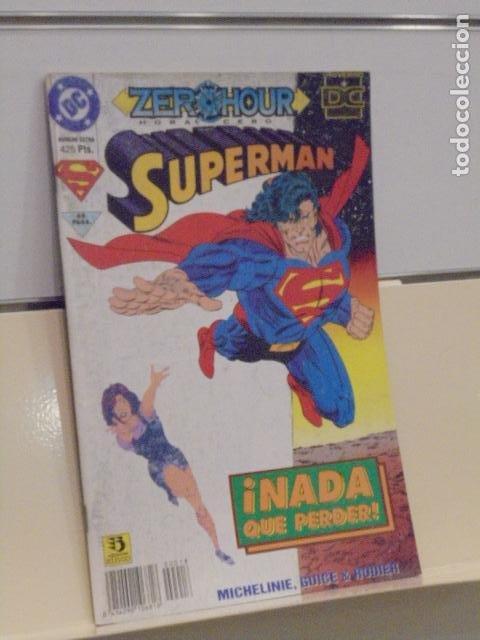 SUPERMAN ZERO HOUR HORA CERO NUMERO EXTRA DC - ZINCO (Tebeos y Comics - Zinco - Superman)