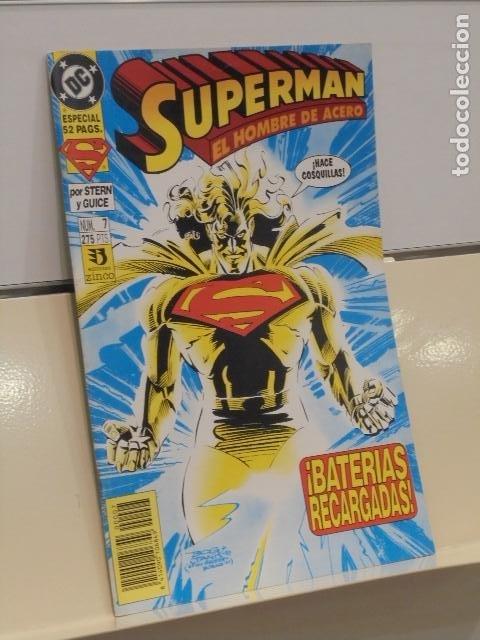SUPERMAN EL HOMBRE DE ACERO Nº 7 DC - ZINCO OFERTA (Tebeos y Comics - Zinco - Superman)