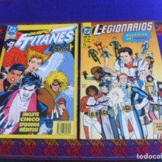 Cómics: ZINCO EQUIPO TITANES ORÍGENES SECRETOS OBRA COMPLETA, LEGIONARIOS LIBRO UNO BAUTISMO DE FUEGO.. Lote 288199428