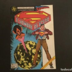 Cómics: COMIC EDICIONES ZINCO NÚMERO 1 EL HOMBRE DE ACERO SUPERMAN. Lote 288202658