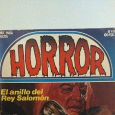 """Cómics: CÓMIC PARA ADULTOS """"HORROR"""" NÚMERO 40 AÑO 1984 EDITORIAL ZINCO. Lote 288340793"""
