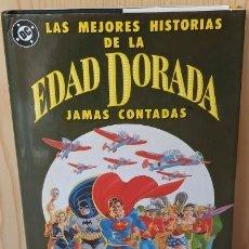 Cómics: LAS MEJORES HISTORIAS DE LA EDAD DORADA JAMAS CONTADAS- ENDITORIAL ZINCO - EXCELENTE ESTADO.. Lote 288365453