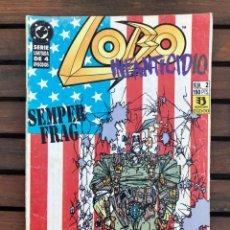 Cómics: LOBO INFANTICIDIO Nº 1 (DE 4). AUTORES KEITH GIFFEN Y ALAN GRANT. EDICIONES ZINCO, MAYO DE 1993. Lote 288391318