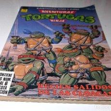 Cómics: AVENTURAS TORTUGAS NINJA - CONTIENE LOS NUM. 1 AL 6. (TOMO 1 RETAPADO) ED. ZINCO. Lote 288391458