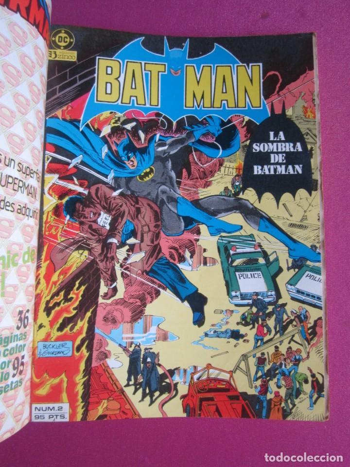 BATMAN VOL 1 - 2 3 4 5 TOMO EDITORIAL ZINCO C143 (Tebeos y Comics - Zinco - Batman)
