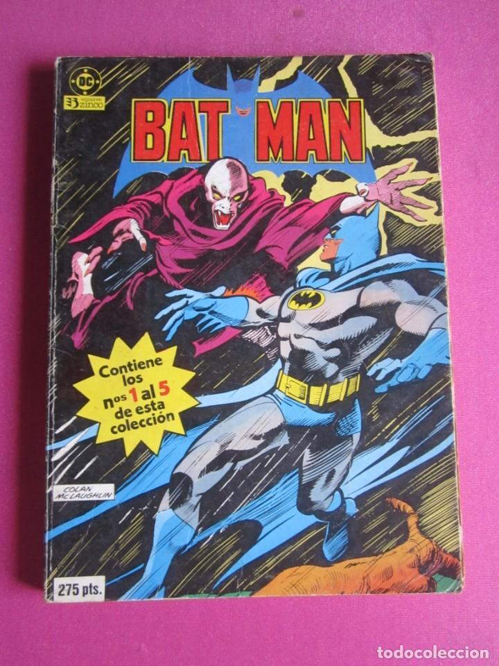 Cómics: BATMAN VOL 1 - 2 3 4 5 TOMO EDITORIAL ZINCO C143 - Foto 5 - 288474423