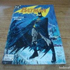 Cómics: BATMAN Nº 3 ZINCO JUSTICIA CIEGA. Lote 288687278